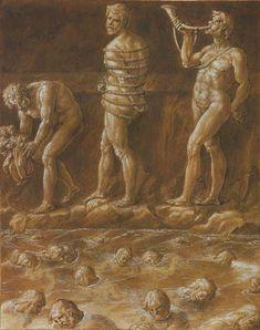 Illustration of Dante's Inferno by Giovanni Stradano (mannerist artist)