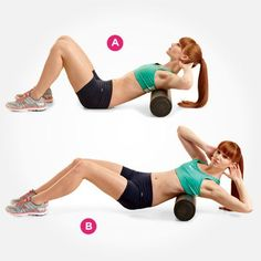 Work your shoulders and sides with this move--or check out 6 more awesome ways to use a foam roller here:  http://www.womenshealthmag.com/fitness/foam-roller-exercises?cm_mmc=Pinterest-_-womenshealth-_-content-fitness-_-foamrollermoves