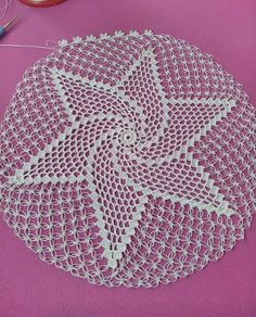 Günaydııınnn ❤❤😍😍 Knitting PatternsCrochet For BeginnersCrochet Hair StylesCrochet Amigurumi Crochet Doily Patterns, Crochet Borders, Crochet Art, Filet Crochet, Crochet Motif, Crochet Doilies, Hand Crochet, Crochet Flowers, Crochet Stitches