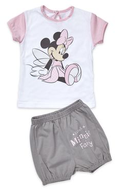 Minnie Mouse, Summer Set, Shorts, Kind Mode, Summer Collection, Kids Fashion, Onesies, Check, Baby