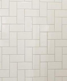 regular subway tile installed perpendicular with a slightly darker grout   Sarah Richardson Design