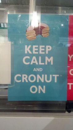 Keep calm and cronut on #cronuts