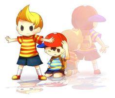 Lucas & Ness (Sm4sh & Braw)