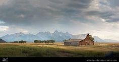 Barn in the beautiful Grand Tetons. www.lacedphotography.com