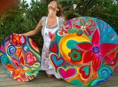 Pato Gil Villalobos Art Doodle, Arte Country, Mandala Artwork, Funky Art, Barn Quilts, Dot Painting, Art Journal Inspiration, Whimsical Art, Mandala Design