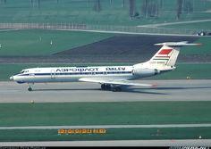 Aeroflot (Malev - Hungarian Airlines) Tupolev Tu-134A Zurich (- Kloten) (ZRH / LSZH) Switzerland, April 1979