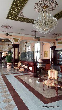 Riu Palace Riviera Maya, grand lobby