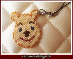 Winnie the Pooh brick stitch