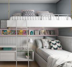 como-decorar-quartos-pequenos-duas-criancas.jpg (1080×1019)