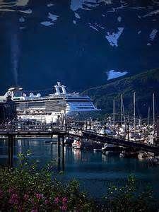 Whittier,Alaska Harbor