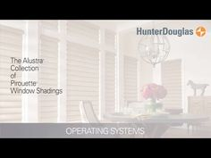 With soft, horizontal fabric vanes attached to a single sheer backing, The Alustra Collection of Pirouette window shadings from Hunter Douglas control light in an entirely new way.
