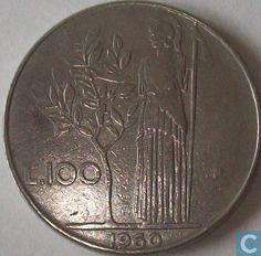 Coins - Italy - Italy 100 lire 1960