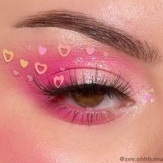 Cheek Makeup, Eye Makeup Art, Fairy Makeup, Mermaid Eye Makeup, Butterfly Makeup, Pastel Makeup, Pink Makeup, Makeup Sets, Colorful Makeup