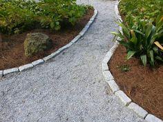 granite gravel path - Google Search