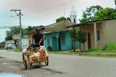 Daily life in Aguadulce, Panama.