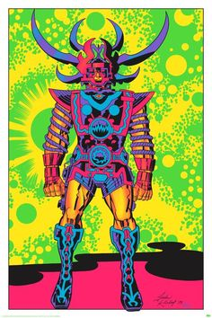 This is the story of how some rad, trippy artwork went from a cancelled movie, to a CIA operation, to some seriously awesome black light posters. Lord of Light is a sci-fi novel by Roger Zelazny published in 1967, and it inspired a plan to make a grandiose science fiction