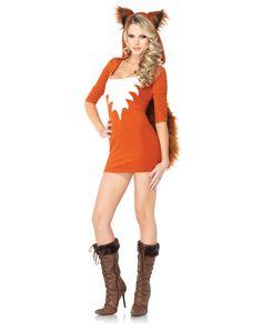 Foxy Roxy Adult Women's Costume $59.99 Spirit Halloween