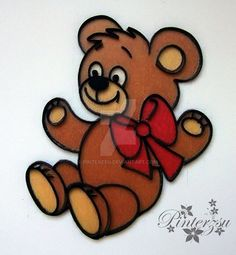 Quilling by pinterzsu on DeviantArt Quilling Animals, Paper Quilling, My Works, Tigger, Decoupage, Teddy Bear, Deviantart, Artist, Artists
