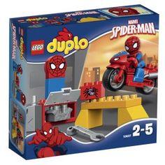 Lego Duplo Super Heroes Marvel Spider Man Web Bike Workshop Spiderman Kids Toys for sale online Lego Duplo, Lego Juniors, Spiderman Lego, Superhero, Spiderman Theme, Spiderman Costume, Lego Marvel, Batman, Toys R Us