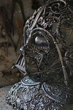Scrap Metal Darth Vader