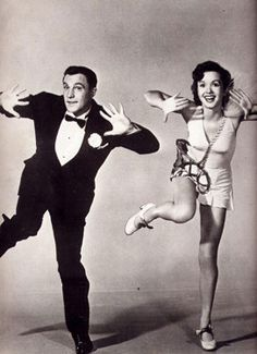 "Gene Kelly & Debbie Reynolds, ""Singing in the Rain"""
