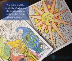 Our lives are colored with choice, perspective and experience - Deana Farrell Intense Love, Cause And Effect, We The Best, Life Pictures, Prioritize, Big Picture, Our Life, Perspective, Coloring Pages