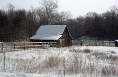 Caseville MI Winter | scene along M25 near Caseville MI. | Flickr - Photo Sharing!
