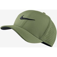 Nike Classic 99 Fitted Golf Hat. Nike.com (715 MXN) ❤ liked on Polyvore featuring accessories, hats, fitted golf caps, fitted hats, nike hat, golf hats and golf cap