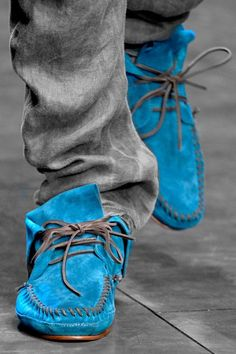Don't you step on my blue suede shoes. You can do anything but lay off of my blue suede shoes.