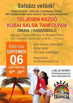 Budapest, Salsa, Tropical, Dance, School, Dancing, Salsa Music