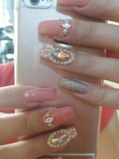 Milena, Nail Colors, Hair Makeup, Nail Art, Nails, 3d, Beauty, Nail Jewels, Nail Ideas