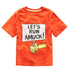 Let's just be honest.  This fits my kid to a T!