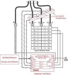 3 Phase Wiring Diagram For House Electrical Installation, Electrical Wiring, Electrical Engineering, Solar Panel System, Panel Systems, Solar Panels, Light Switch Wiring, Current Transformer, Distribution Board