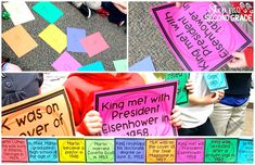 Students organize the important dates of Dr. King's life with the cute printables.