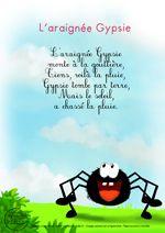 Paroles_L' araignée Gypsie                                                                                                                                                                                 Plus