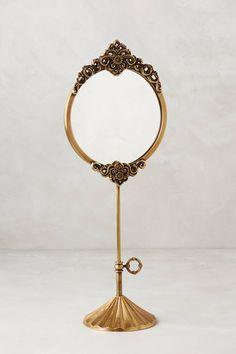 Brass Adalie Vanity Mirror - anthropologie.com