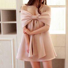 Pink Prom Dress,Bowknot Prom Dress,Mini Prom Dress,Fashion Homecoming Dress,Sexy Party Dress, New Style Evening Dress
