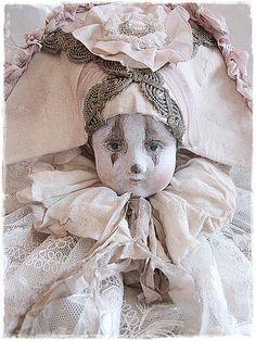 altered vintage doll