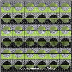 (7) Name: 'Quilting : Adventure Quilt: Block of the Month #9