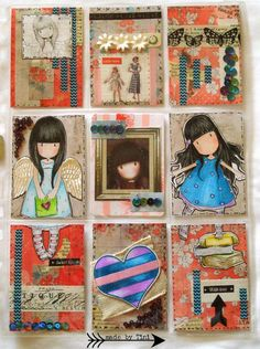 Arts by Tini: My Pocket Letters #Gorjuss