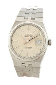 Rolex Men's/Unisex Datejust Oyster Quartz Watch on HauteLook