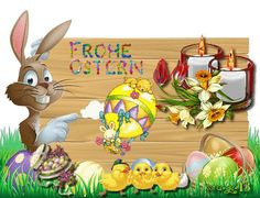 dreamies.de (8zh8t5q8sf2.gif) Easter Art, Easter Eggs, Happy Easter Gif, Easter Bunny Pictures, Just Magic, Tinkerbell, Animals And Pets, Eminem, Pikachu