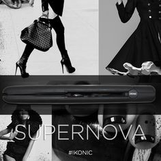 iKONIC Precision Styling Tools offers SUPER technology that is SUPER advanced!! The Supernova flat iron by iKONIC! Check out our website www.ikonicstyle.com for more info #ikonic #supernova #flatiron #hair #curl #style #black #fashion Styling Tools, Flat Iron, Technology, Website, Check, Hair, Style, Fashion, Tech