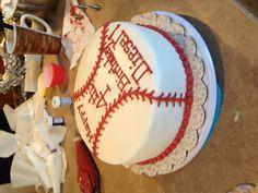 baseball cake but for graduation