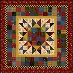 Red Rooster Quilts: Shop | Category: Patterns - Download for FREE | Product: Merry & Bright Downloadable Quilt Pattern