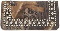 Camo & Rhinestone Wallet | Cavender's