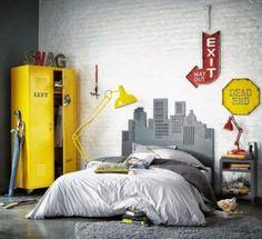 Modern and stylish teen boys room design ideas 01