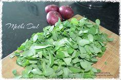Madhu's Cooking And Craft: Methi Dal/Fenugreek Leaves Dal/Parupu Venthiya Kee...