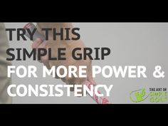 Golf: How to Grip It for Power And Consistency With A Baseball Grip