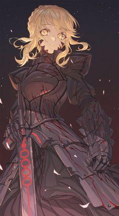 Arturia Pendragon, Cool Anime Girl, Anime Girls, Comic Manga, Fate Anime Series, Fate Zero, Animes Wallpapers, Fate Stay Night, Alters